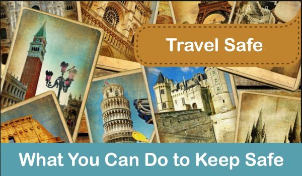 Senior Travelers Keeping Safe